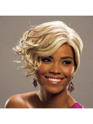 Short Curly Soft Human Hair Wigs