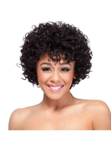 Cheapest Auburn Classic Curly Short Wigs