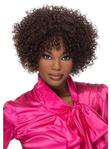 Curly Synthetic Impressive Short Wigs