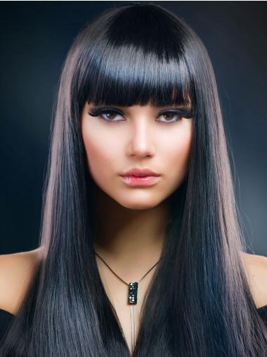 Straight Fashion 18 Inch Wigs
