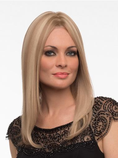 Cheap Blonde Monofilament Long Full Lace Wigs