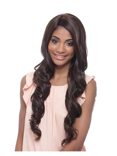 Lace Front Wavy Synthetic Long Wigs