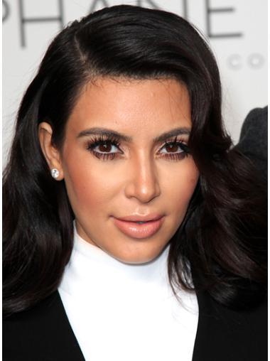Tempting Black Wavy Long Kim Kardashian Wigs