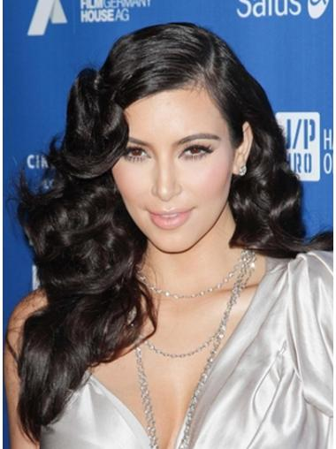 Easy Black Curly Long Kim Kardashian Wigs