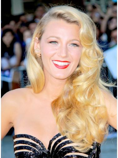 High Quality Blonde Wavy Long Celebrity Wigs
