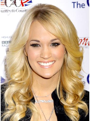 Elegant Blonde Wavy Long Celebrity Wigs