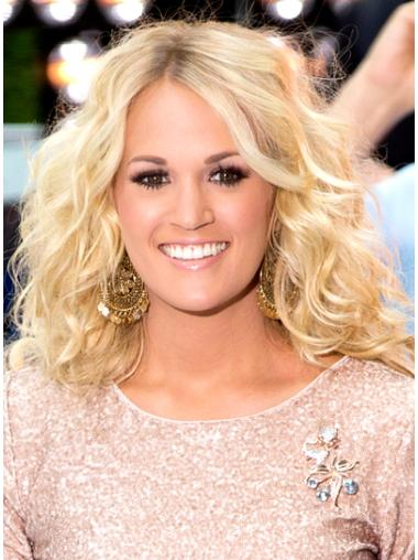 Comfortable Blonde Wavy Long Celebrity Wigs