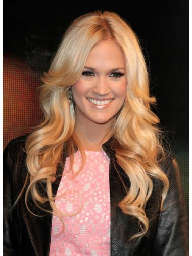 Incredible Blonde Curly Long Celebrity Wigs