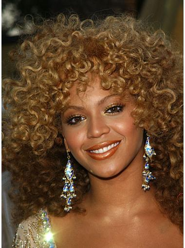 Style Blonde Curly Shoulder Length Beyonce Wigs