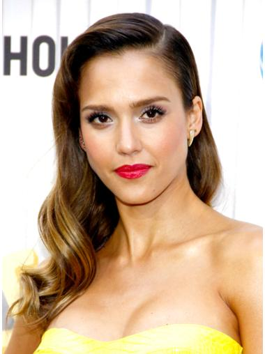 Discount Brown Wavy Long Jessica Alba Wigs