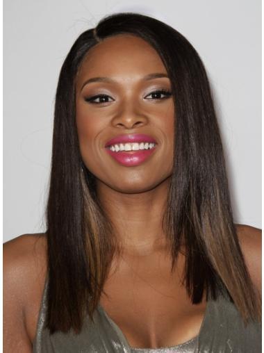 Stylish Brown Straight Shoulder Length Jennifer Hudson Wigs