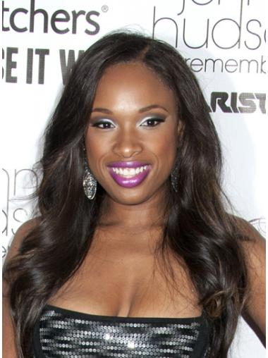 Easy Brown Wavy Long Jennifer Hudson Wigs