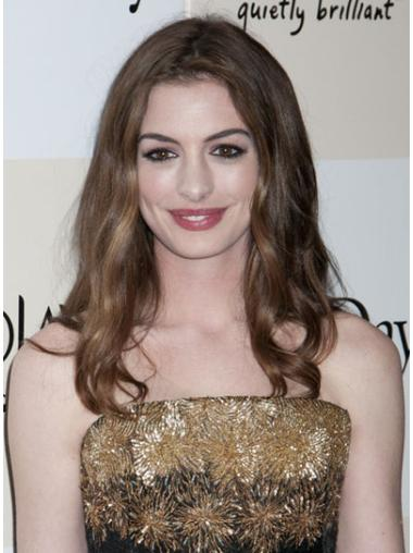 Modern Lace Front Wavy Long Anne Hathaway Wigs