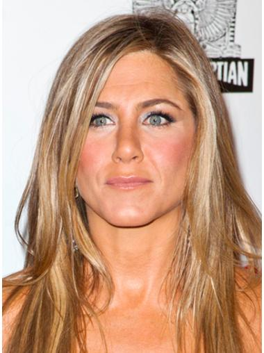 IncLace Frontible Blonde Straight Long Jennifer Aniston Wigs