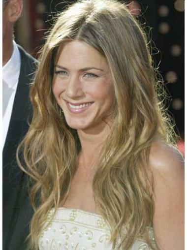 Popular Blonde Wavy Long Jennifer Aniston Wigs