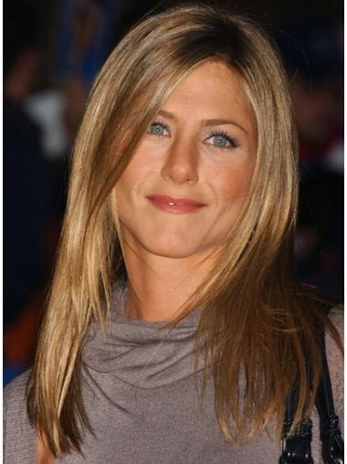 New Blonde Straight Long Jennifer Aniston Wigs