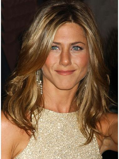 Graceful Blonde Wavy Long Jennifer Aniston Wigs