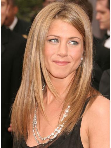 High Quality Blonde Straight Long Jennifer Aniston Wigs