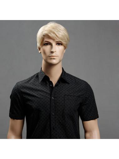 Blonde 11 Inch Short Men Wigs