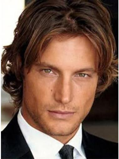 Fashionable Lace Front Wavy Short Men Wigs