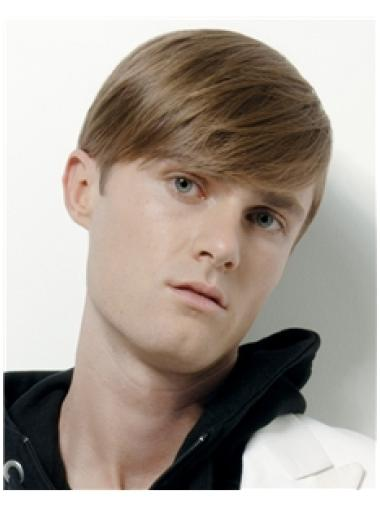 Tempting Blonde Straight Cropped Men Wigs