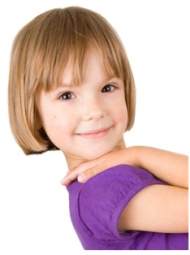Preferential Blonde Straight Short Kids Wigs