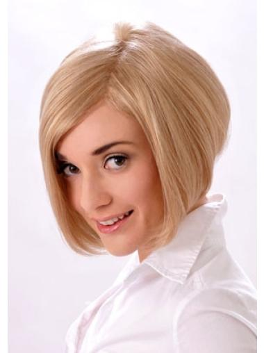 Blonde Easy Monofilament Synthetic Medium Wigs