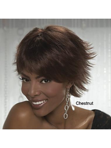Boycuts Straight Short Suitable Wigs
