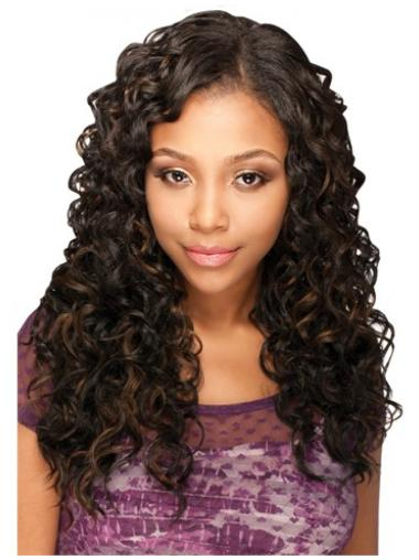 Braw Brown Curly Long U Part Wigs