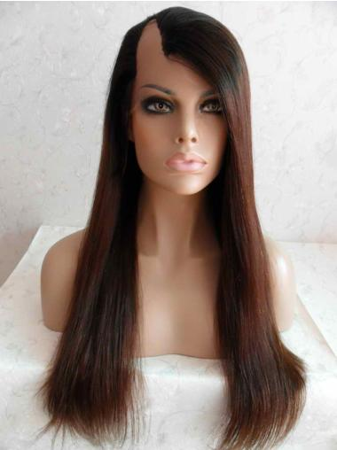 New Auburn Lace Front Long U Part Wigs