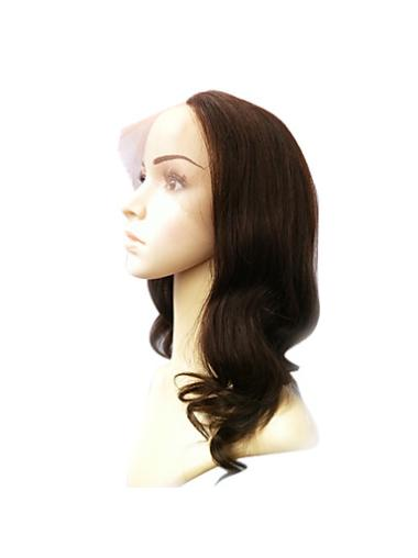 Lace Front Middle Human Hair Style U Part Wigs