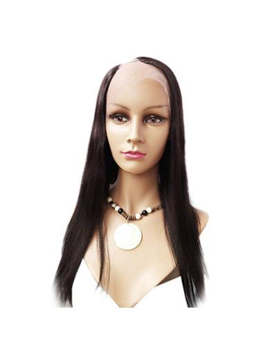 Lace Front Auburn Human Hair Hairstyles U Part Wigs