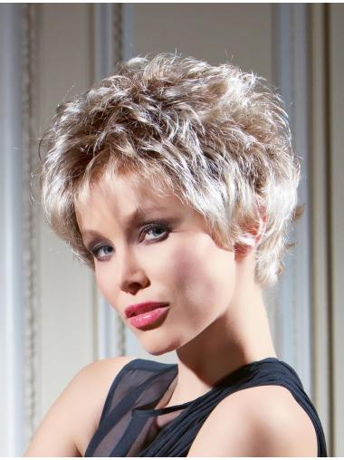 Braw Blonde Wavy Cropped Synthetic Wigs