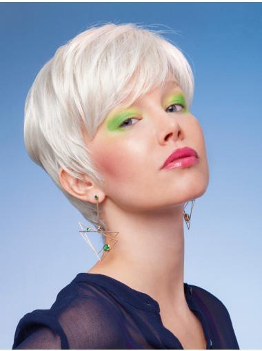 Impressive Monofilament Short Synthetic Wigs