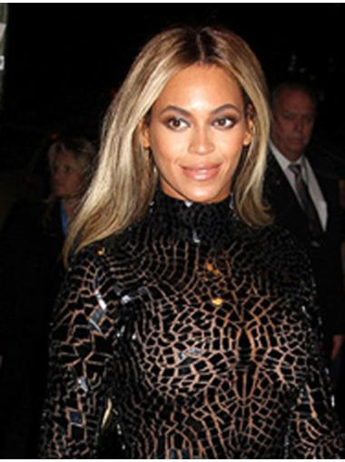 Pleasing Blonde Straight Long Beyonce Wigs