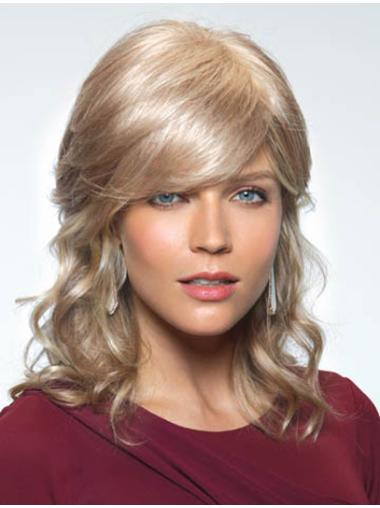 Blonde Wavy Synthetic Long Wigs