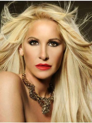 Perfect Blonde Straight Long Kim Zolciak Wigs