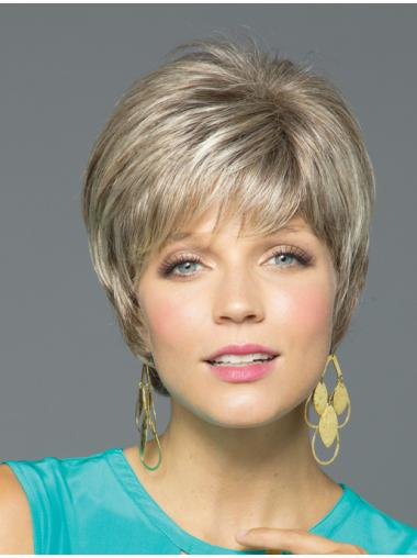 Tempting With Bangs Monofilament Short Wigs