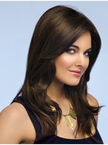 Brown Wavy Synthetic Designed Long Wigs