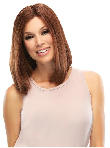 Great Auburn Lace Front Shoulder Length Remy Human Lace Wigs