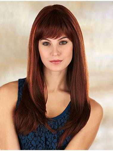 Great Monofilament Straight Synthetic Long Wigs