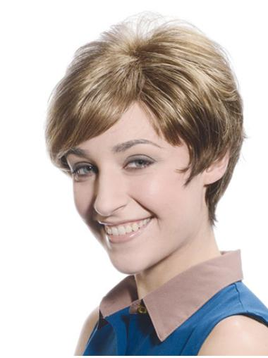Lace Front Online Boycuts Straight Short Wigs