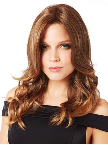 Style Synthetic Lace Front Wavy Long Wigs