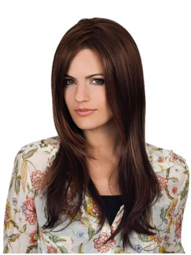 Lace Front Wavy Remy Human Hair Beautiful Long Wigs