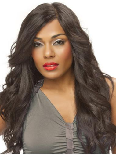 Hairstyles Synthetic Brown Wavy Long Wigs
