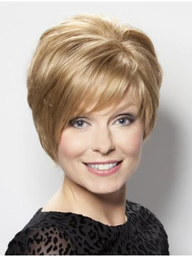 Blonde Lace Front Synthetic New Short Wigs