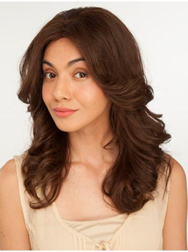 Online Remy Human Hair Lace Front Wavy Long Wigs