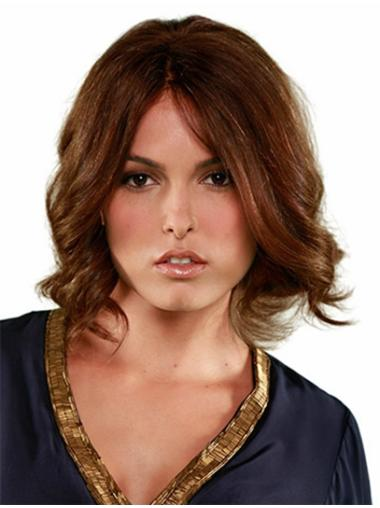 Comfortable Monofilament Curly Chin Length Full Lace Wigs