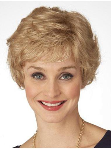 Affordable Blonde Wavy Short Classic Wigs