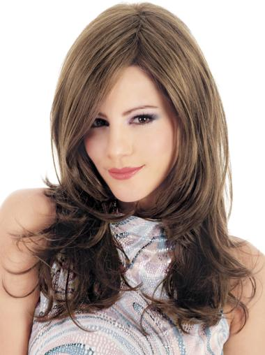 Affordable Synthetic Lace Front Wavy Long Wigs